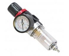 Drukregelaar met waterafscheider voor straalketel PP-T 0012