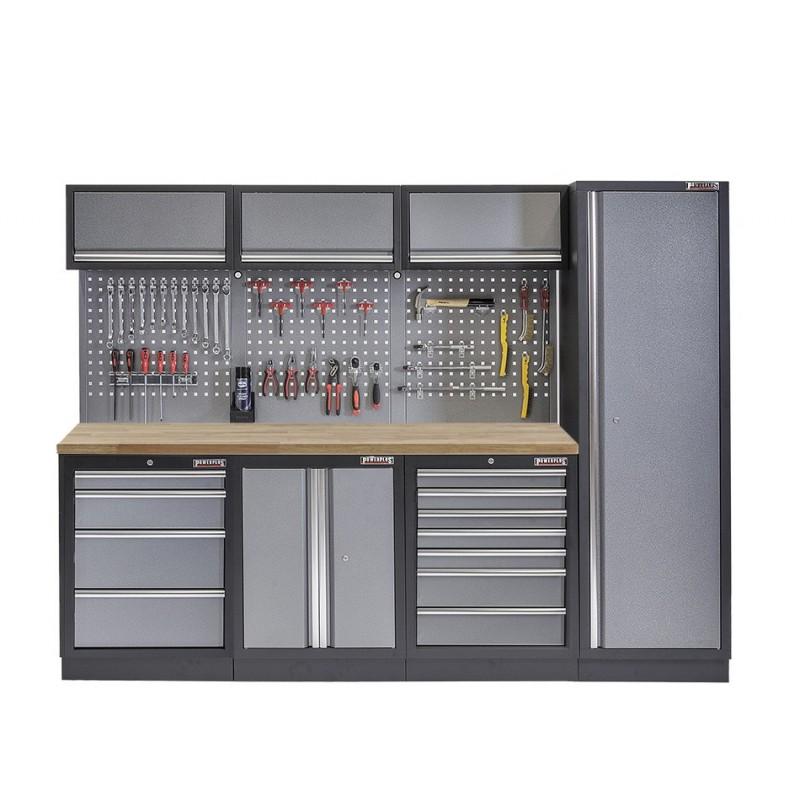 Werkbank met laden en gereedschapswand kopen Webshop Powerplustools nl