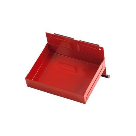 Magnetisch bakje rood 15 x 11,5 x 3 cm