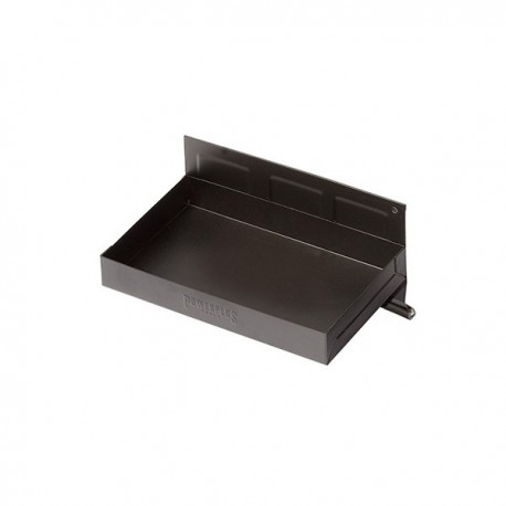 Magnetisch bakje zwart 21 x 11,5 x 3 cm