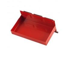 Magnetisch bakje rood 21 x 11,5 x 3 cm