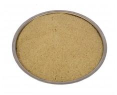 Universeel straalgrit 0,1 - 0,6 mm. in 25 kg. verpakking
