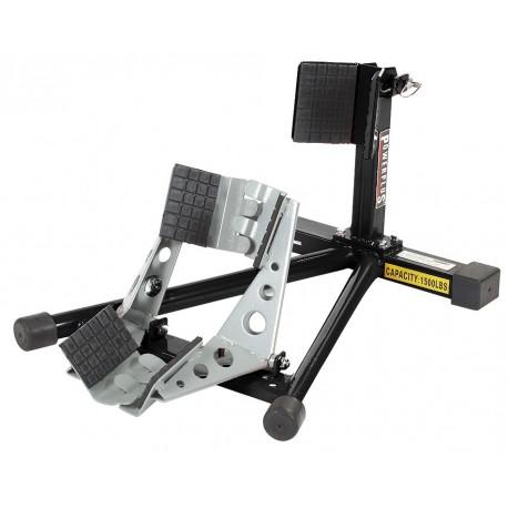 Inrijklem / transportklem zwart voor smalle banden - De gratis set spanbanden altijd gebruiken!