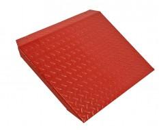 Oprijplaat rood voor heftafel 0332