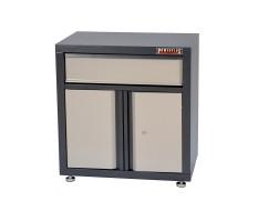 Gereedschapskast vloermodel 68 x 46 x 72 cm met 2 deuren + 2 lades - werkplaatskast