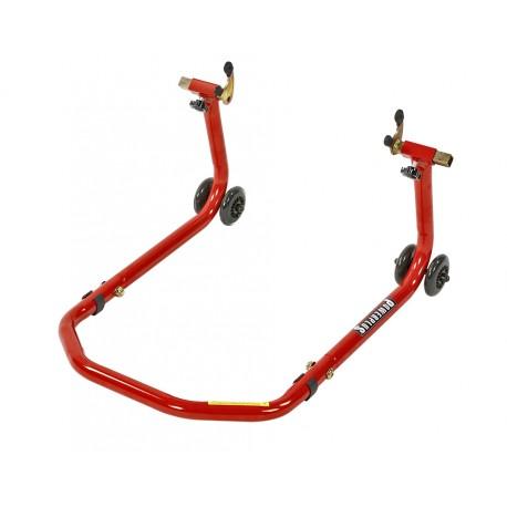 Paddockstand voor bobbins gebruik in breedte verstelbaar - rood