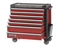 Gereedschapswagen rood 7 laden 97 x 48 x 101 cm