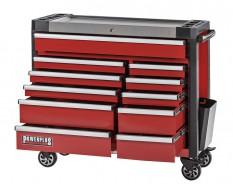 Gereedschapswagen rood 11 laden 110 x 48 x 101 cm
