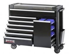 Gereedschapswagen zwart 7 laden + lade met magazijnbakjes - 110 x 48 x 101 cm