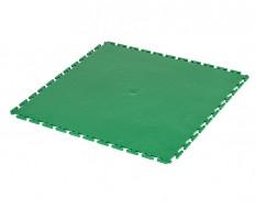 PVC kliktegel groen 500 x 500 x 6 mm. Vloertegel voor industrieel gebruik - hamerslag anti slip profiel
