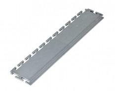 PVC oprijrand grijs - oplooprand 500 x 100 mm. voor Industriële PVC kliktegel