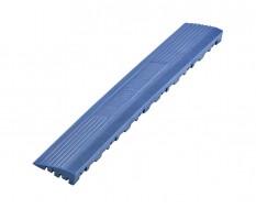 Kunststof oprijrand blauw - oplooprand 400 x 60 mm voor 1810 + 1813 kliktegel type 2