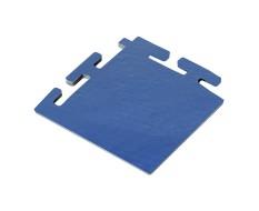 PVC hoekstuk blauw 100 x 100 x 6 mm. voor Industriële kliktegels 1811 en 1812