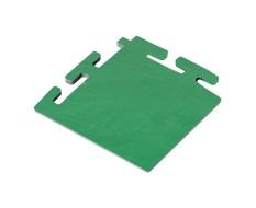 PVC hoekstuk groen 100 x 100 x 6 mm. voor Industriële kliktegels 1811 en 1812