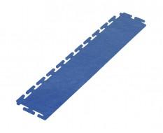 PVC oprijrand blauw - oplooprand 500 x 100 mm. voor Industriële PVC kliktegel
