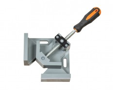 Aluminium hoek spanner – spanklem – bankschroef – hoekklem – 70 mm. lijmklem 90 graden.
