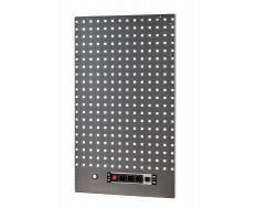 Gereedschapsbord 105 x 61 cm. met 3 x stopcontact en 2 x USB poort voor garageserie