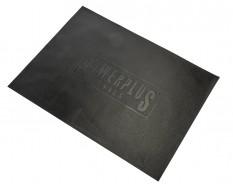 Zachte dunne non-woven foam mat met logo 827 x 597 x 2,5 mm voor lade gereedschapswagen