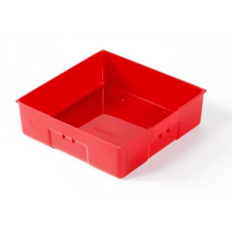 Kunststof bak 150 x 150 x 45 mm voor gereedschapswagen