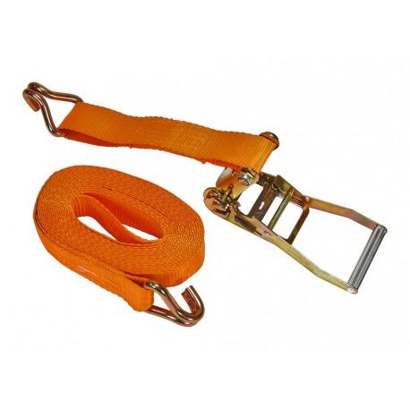 Extra sterke spanband / sjorband met ratelsysteem 680 cm