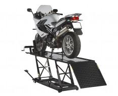 Heftafel zwart voor motorfiets - heftafel motor - heftafel hydraulisch - motorheftafel kleur zwart