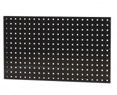 Gereedschapsbord zwart 100 x 59 cm