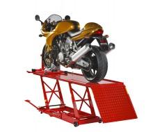 Heftafel met inrijklem voor motorfiets - heftafel voor motor - heftafel hydraulisch - motorheftafel 68 cm.