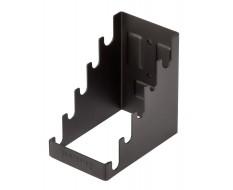 Magnetische T-sleutels houder zwart - Metaal