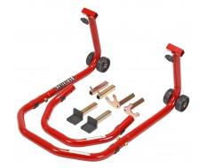 Paddockstand voor- of achterwiel 3 in 1 voor motorfietsen