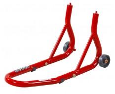 Paddockstand voorwiel / voorvork voor motorfiets - rood