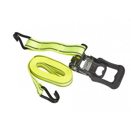 Spanband / sjorband met ratelsysteem 375 cm