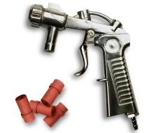 Straalpistool voor cabine inclusief 4 nozzles