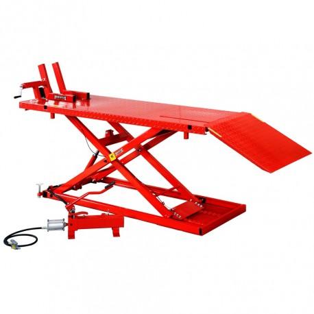 Heftafel voor motor hydraulisch en pneumatisch rood
