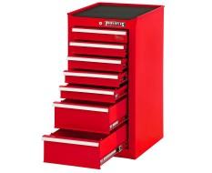 Gereedschapskast rood 7 laden met quicklock