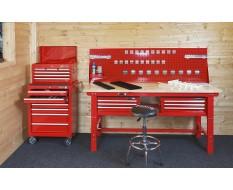 Complete werkplek rood type 4