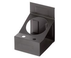 Magnetische houder zwart voor 1 spuitbus