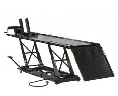 Heftafel voor motorfiets hydraulisch en pneumatisch zwart