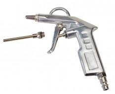 Blaaspistool aluminium met extra spuitmond / luchtpistool / luchtspuit