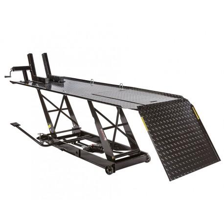 Extra brede heftafel voor motor hydraulisch zwart