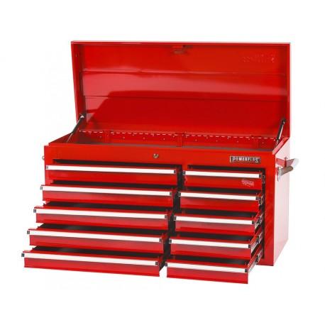 Gereedschapskist rood 10 laden met quicklock