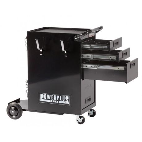 Laswagen met 4 laden - Professionele laskar - gasflessenkar
