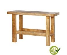 ECO hardhouten werkbank 152 x 64,5 x 95 cm - volledig houten werkbank