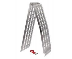 Aluminium oprijplaat 275 cm extra sterk extra breed en inklapbaar