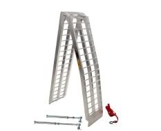 Aluminium oprijplaat 275 cm + lange steunpoten