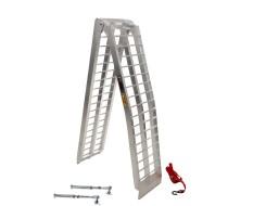 Aluminium oprijplaat 275 cm + korte steunpoten