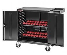 CNC wagen – CNC Gereedschapswagen met 36 x SK30 CNC Gereedschapshouder - Gereedschaphouders.