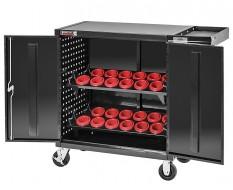 CNC wagen – CNC Gereedschapswagen met 24 x SK50 CNC Gereedschapshouder - Gereedschaphouders