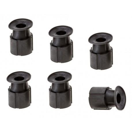 Set van 6 stuks rubberen spuitmond voor handstraler PP-T 0144 - basic