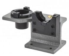 CNC montageblok SK 50 - BT 50 werkbankhouder voor beitelplaat verwisselen