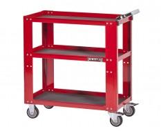 Gereedschapstrolley 85 x 46 x 91 cm - werkplaats trolley - werkplaatskar rood